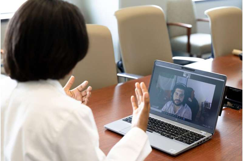 Access to peer support combined with telehealth being studied to combat PTSD
