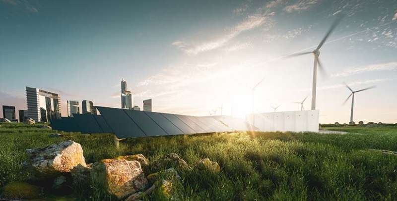 Achieving a national-scale, 100% renewable electric grid