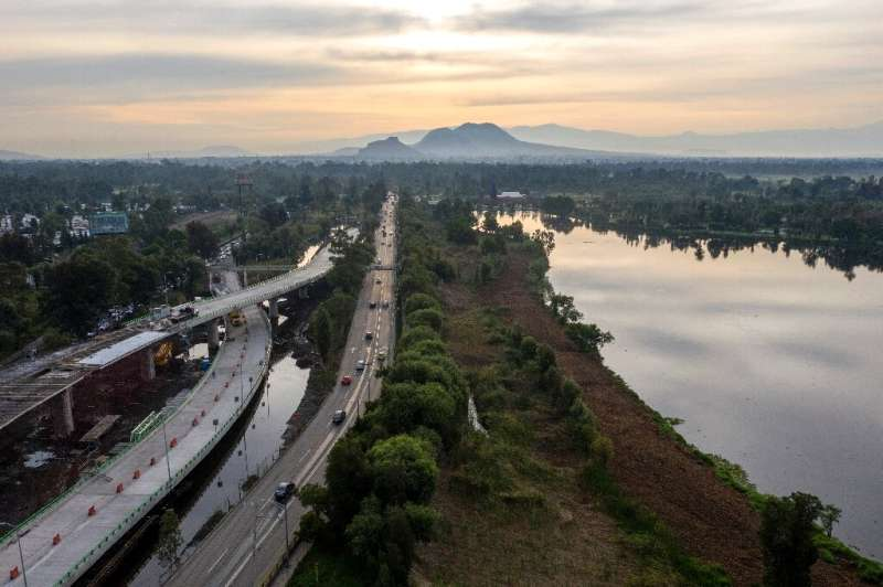 Activists fear a bridge being built over Mexico City's wetlands will cause irreparable damage to the ecosystem