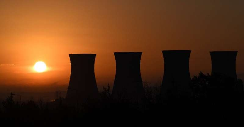 A decommisioned coal-powered plant in northern England underscores the country's bid to cut carbon emissions by 78 percent by 20