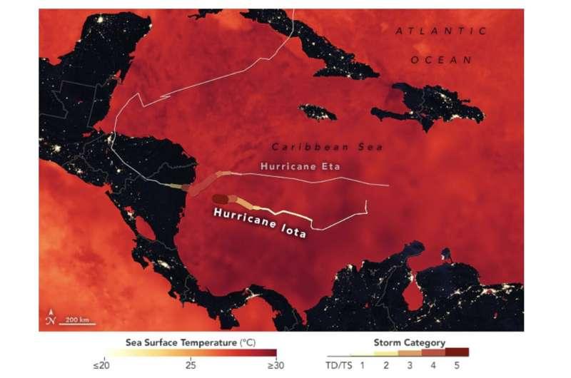Después de Eta y Jota, la NASA ayuda a preparar a Centroamérica para futuras tormentas
