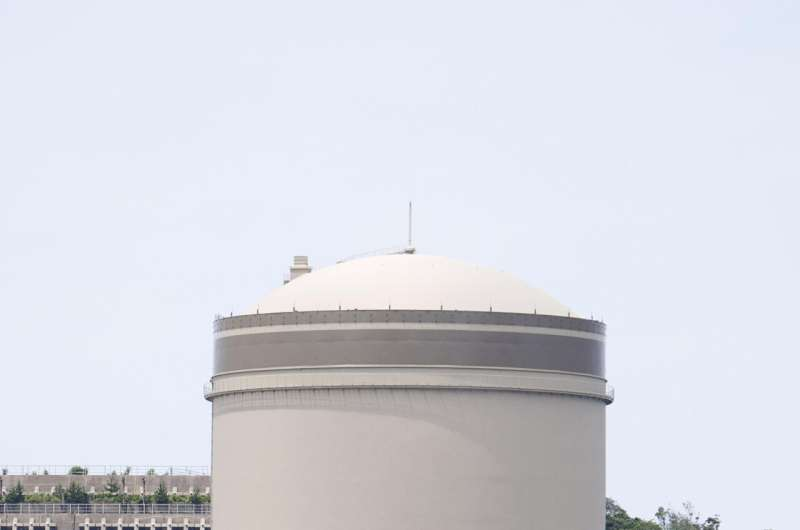 Aging Japanese nuclear reactor restarted after a decade