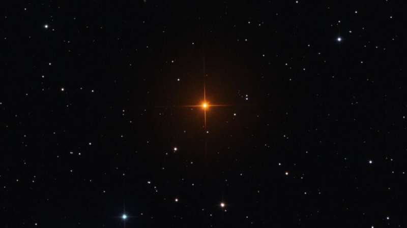 Aging stars provide a new cosmological yardstick