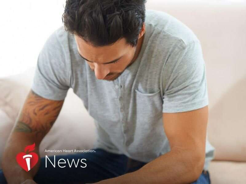 AHA news: depression and anxiety linked to lower levels of heart health in young adults