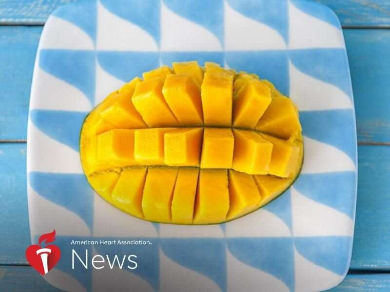 AHA news: is mango the luscious superhero of fruit?
