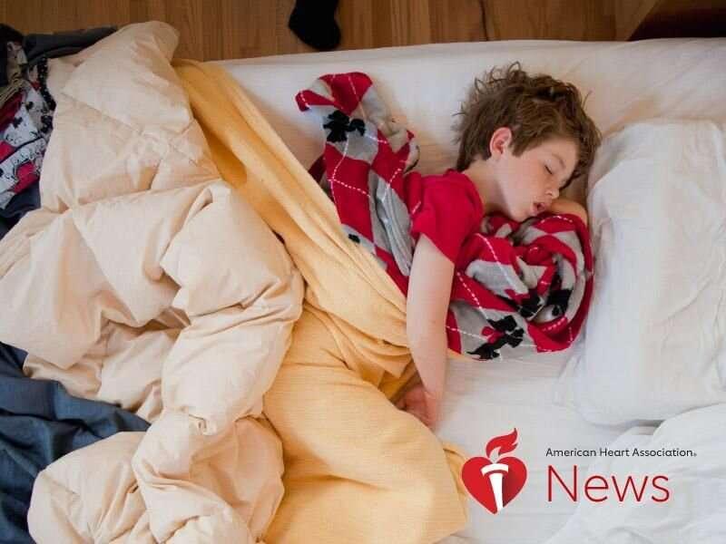 AHA news: kids with sleep apnea into teen years could develop high blood pressure