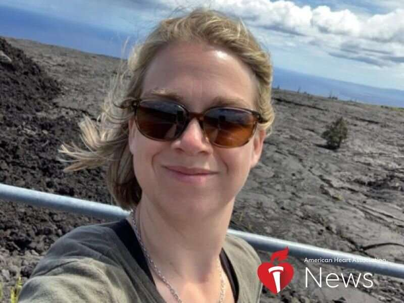 AHA news: misdiagnosed with acid reflux and anxiety, her heart's arteries were blocked