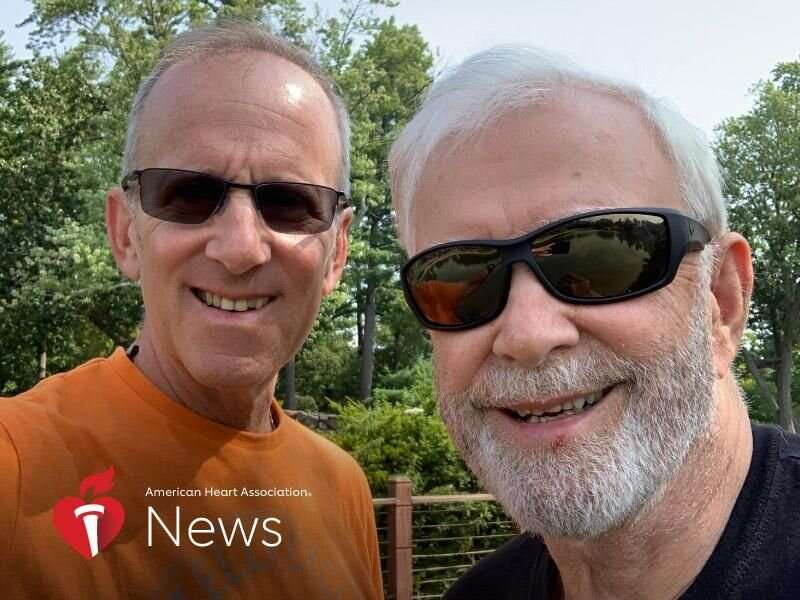 AHA news: son helps dad after back surgery, then dad helps son after stroke