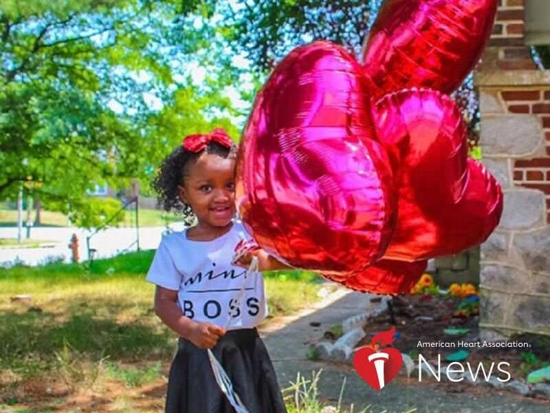 AHA news: hoping to find out her baby's sex, she learned of a serious heart defect