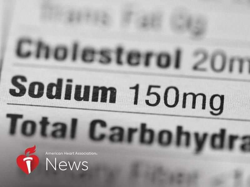 AHA news: lower your sodium, and blood pressure will follow