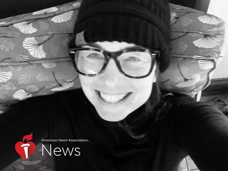 AHA news: triathlete mom's aorta tears followed by 2 strokes in 2 days
