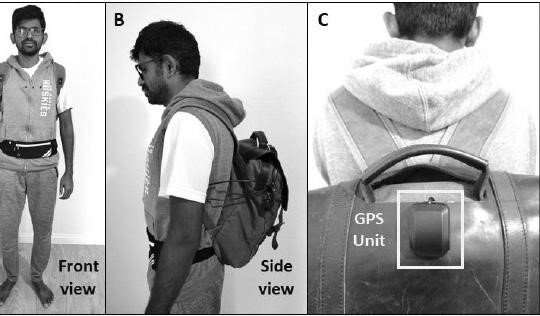 AI equipped backpack allows the blind to walk in public without dogs or cane
