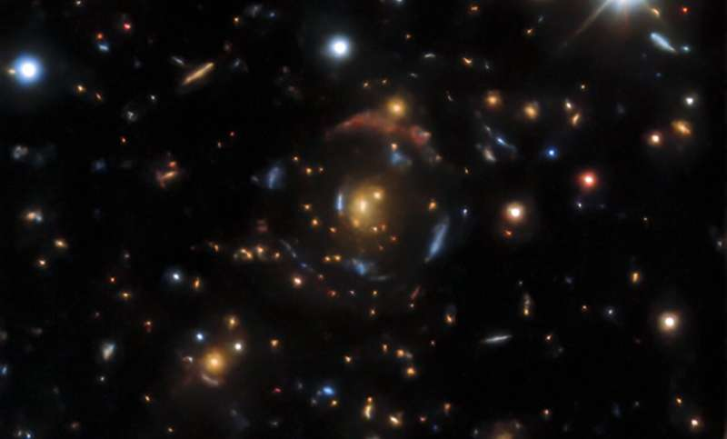 AI finds more than 1,200 gravitational lensing candidates