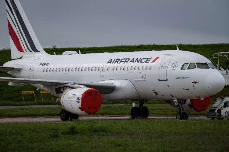 Air France, like most airlines, took most of its planes out of service at their height of the Covid-19 pandemic and parked them