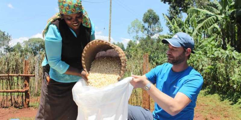 Airtight corn sacks help fight hunger during the COVID-19 pandemic