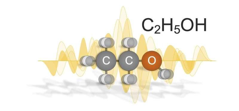 Alcohols exhibit quantum effects