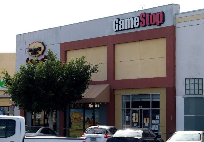 """Amateur investors have targeted shares of firms including GameStop that had been """"short-sold"""" by hedge funds"""