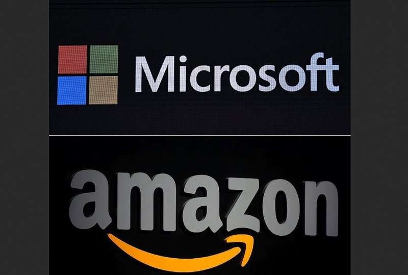 Amazon kept its lead in the global cloud computing market in 2020 despite robust growth from rival Microsoft, according to a sur