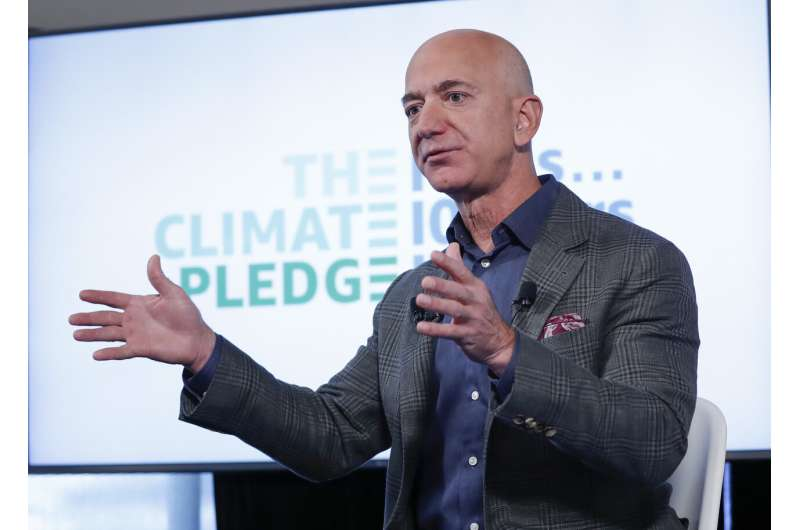 Amazon's Bezos tops list of richest charitable gifts in 2020