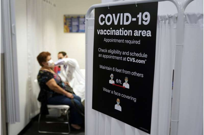 Americans vaccinated against COVID-19 still wait for advice thumbnail