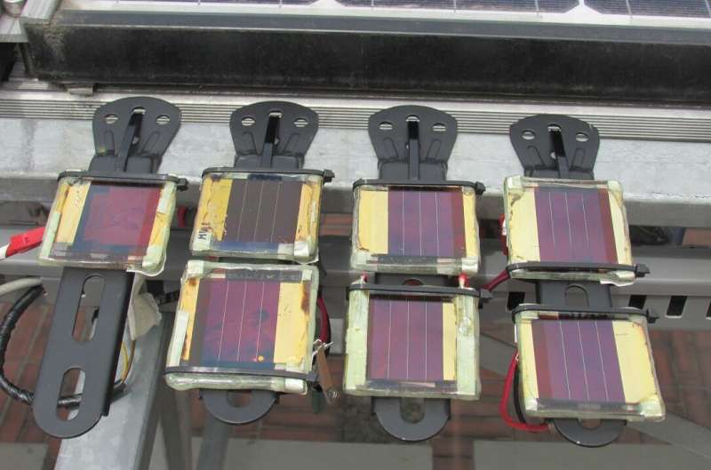 A method to track the outdoor performance of perovskite solar minimodules