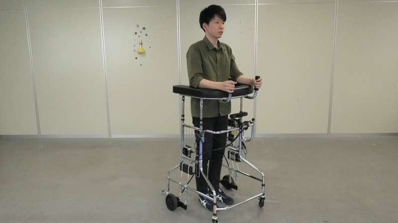 An autonomous forearm-supported walker to assist patients in nursing facilities