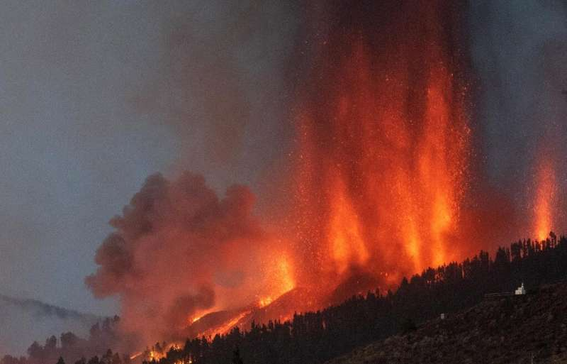 An eruption September 19, 2021 was the first the Cumbre Vieja volcano has erupted in 50 years