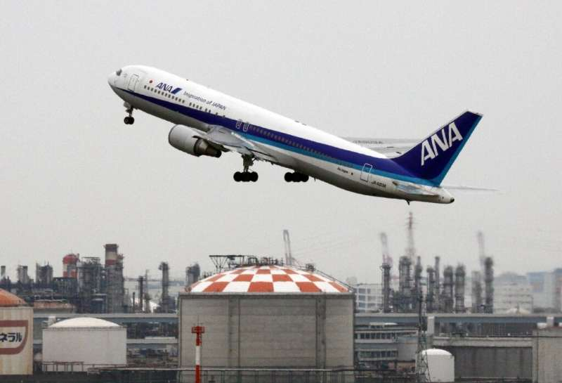 ANA Holdings said it 'plans to reduce carbon emission levels from aircraft operations to net zero by 2050'