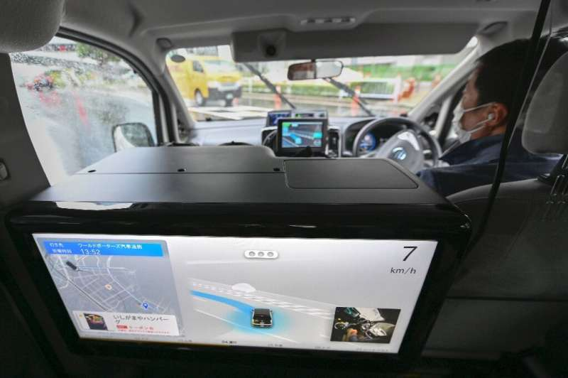 Analysts say it is difficult to predict when autonomous taxis will be commercially available in Japan
