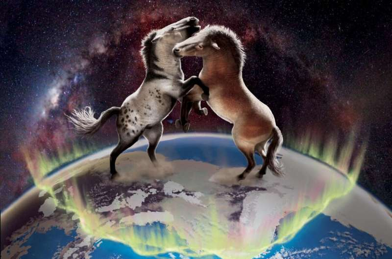 Ancient horse DNA reveals gene flow between Eurasian and North American horses