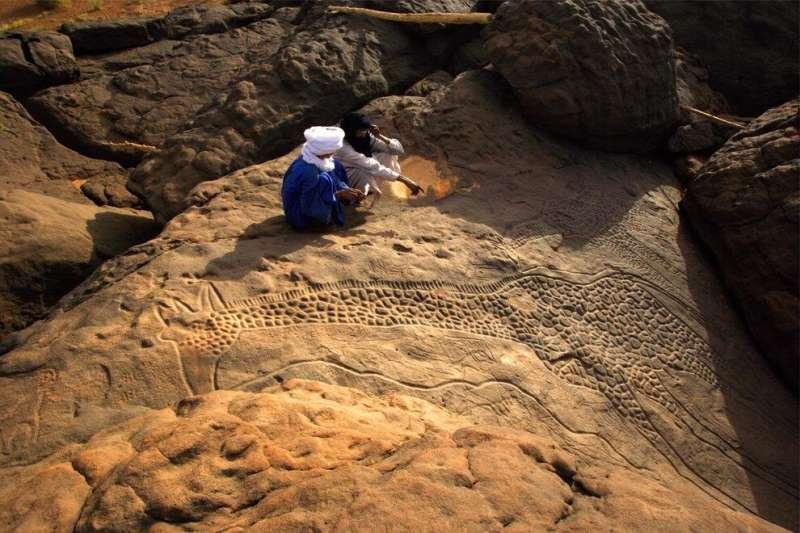 Ancient rivers reveal multiple Sahara Desert greenings
