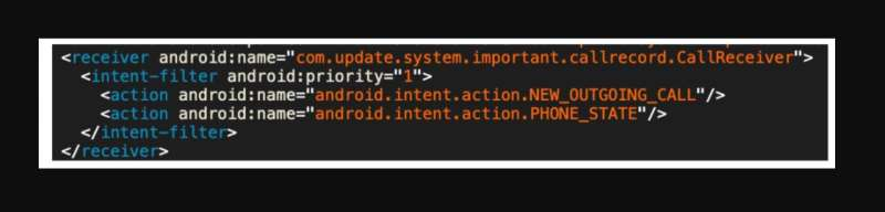 A new advanced Android malware posing as system update