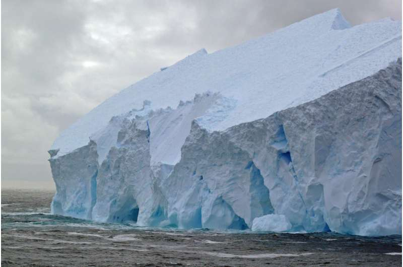 A Harvard study indicates that the Antarctic ice sheet will cause sea levels to rise more than previously thought.