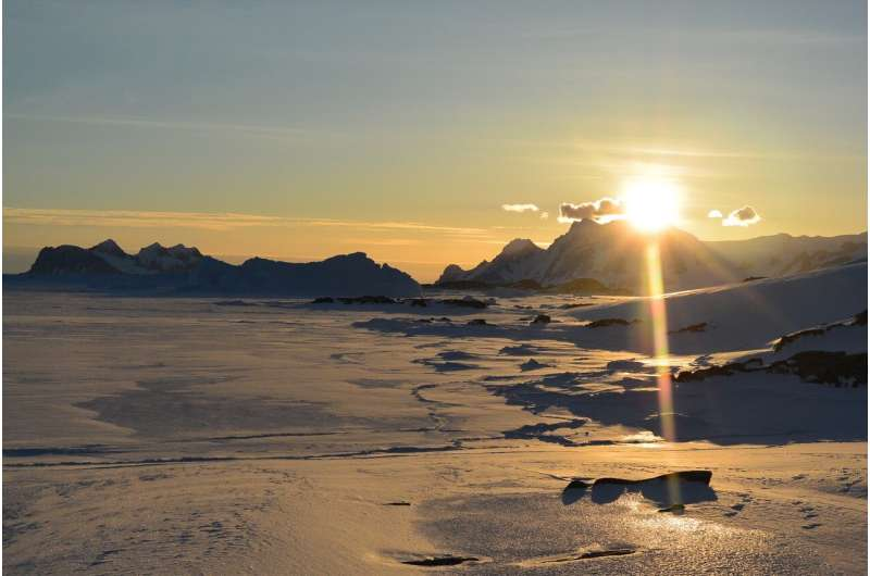 The retreat of the ice from Antarctica could cause a chain reaction