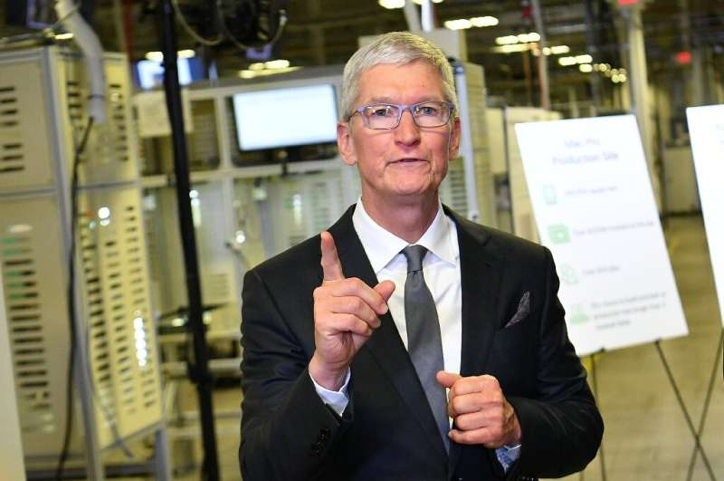 Apple CEO Tim Cook announced education funding efforts under the tech giant's racial equity initiatives which will support progr