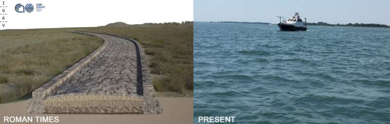 Archaeology: Roman road discovered in the Venice lagoon