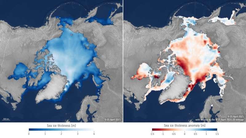 Arctic sea ice succumbs to Atlantification
