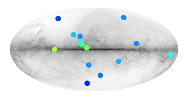 Are there anti-stars around us? answer from the Fermi satellite