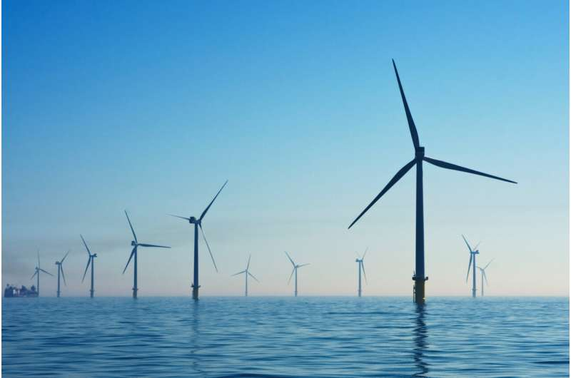 Are wind farms slowing each other down?