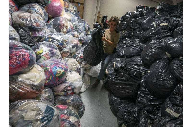 A recent Ellen MacArthur Foundation study found that 40 million tonnes of textiles were sent to landfills or incinerated every y