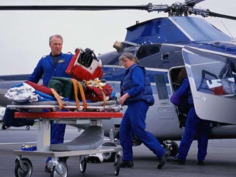 Are pricey air ambulance rides really saving more lives?