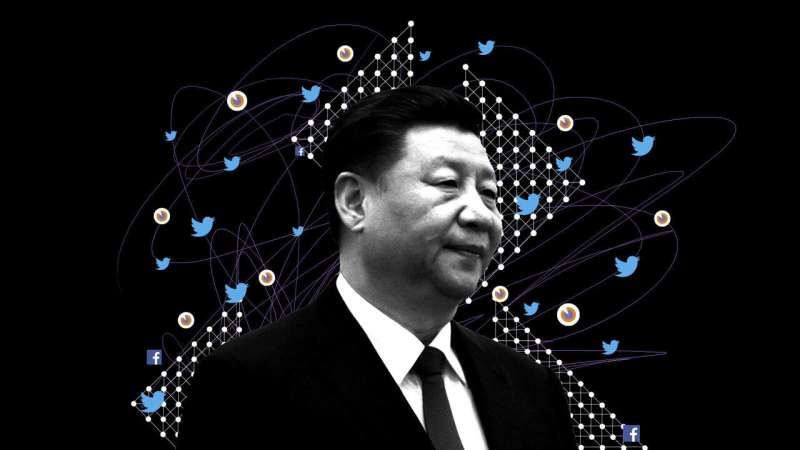 Army of fake fans boosts China's messaging on Twitter