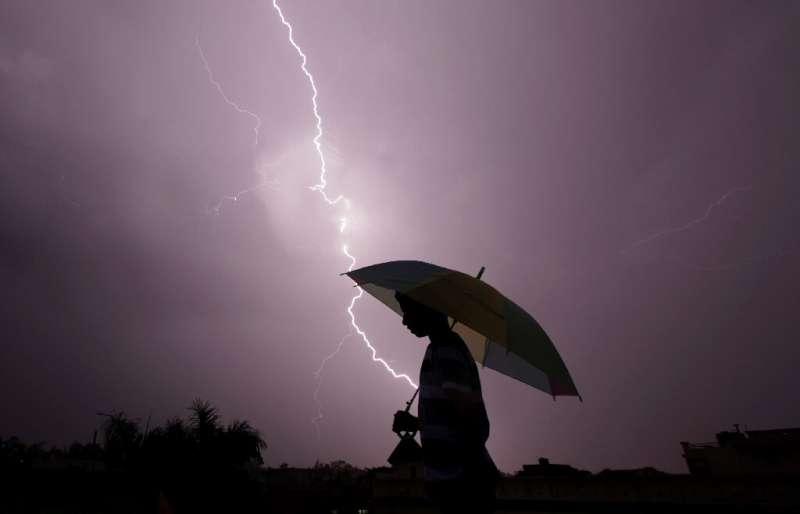 Around 2,500 people die in lightning strikes around India each year