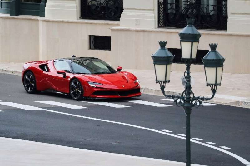 A seven-week halt to production due to Covid-19 pushed down sales and profit at Ferrari