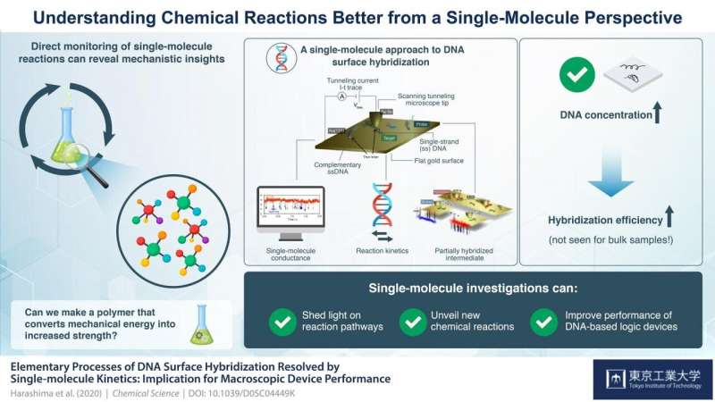 A single-molecule guide to understanding chemical reactions better