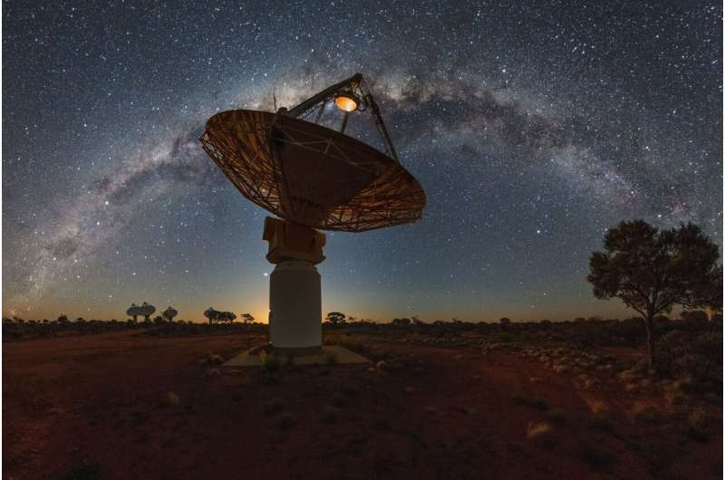 ASKAP takes a first glimpse at the galactic plane