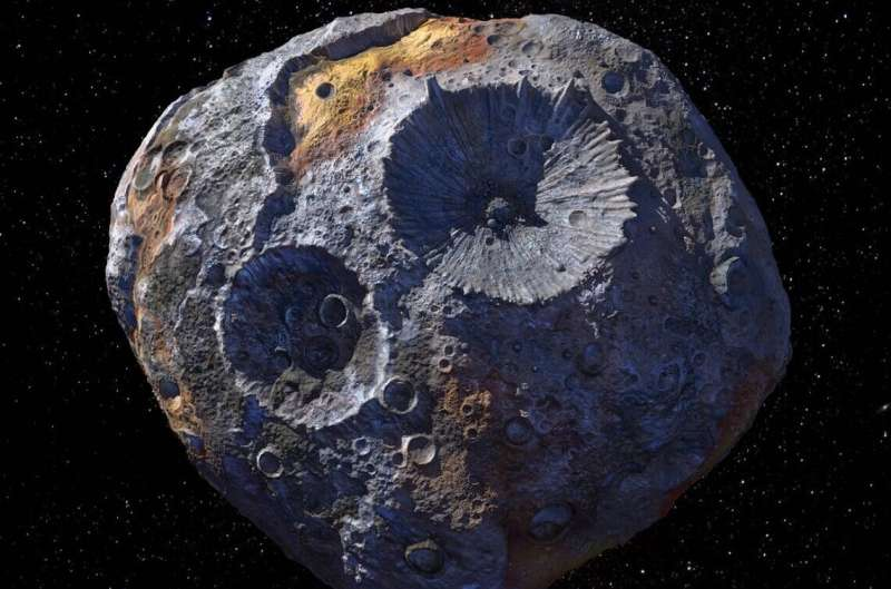 Asteroid 16 Psyche might not be what scientists expected Asteroid-16-psyche-mig