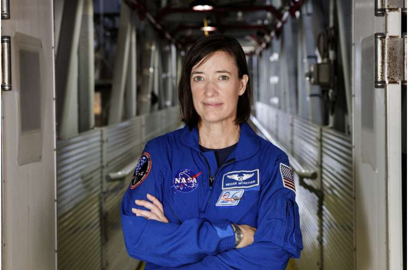 Astronaut gets special ice cream delivery for 50th birthday