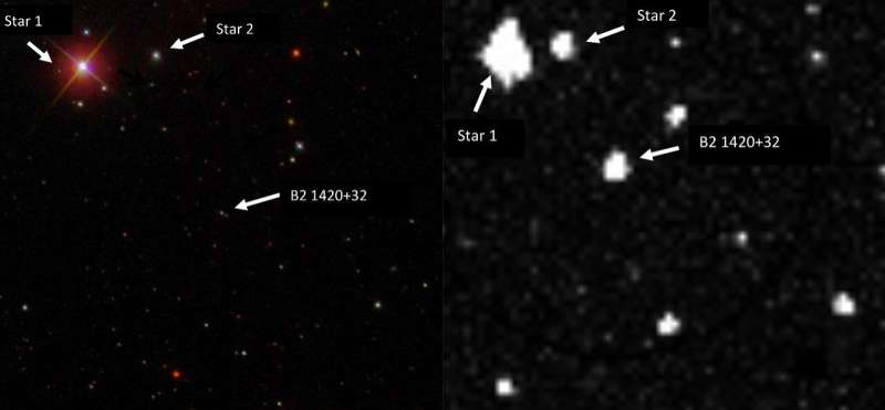 Astronomers discover a 'changing-look' blazar