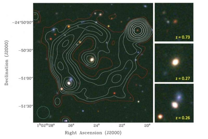 Astronomers discover a new extragalactic circular radio source Astronomers-discover-a